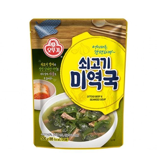 오뚜기 쇠고기 미역국(상온) 500g