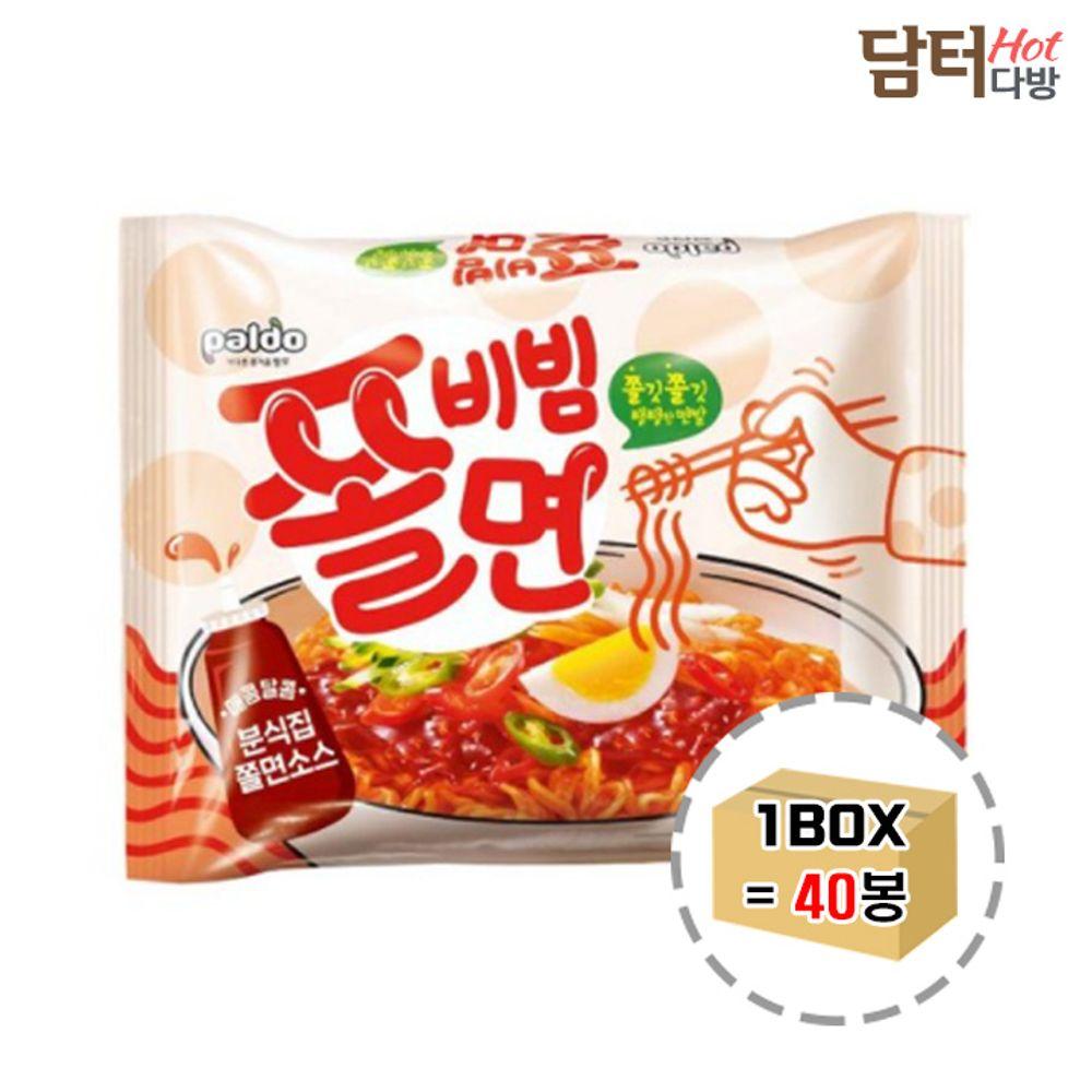 팔도 쫄비빔면 1BOX (40봉)