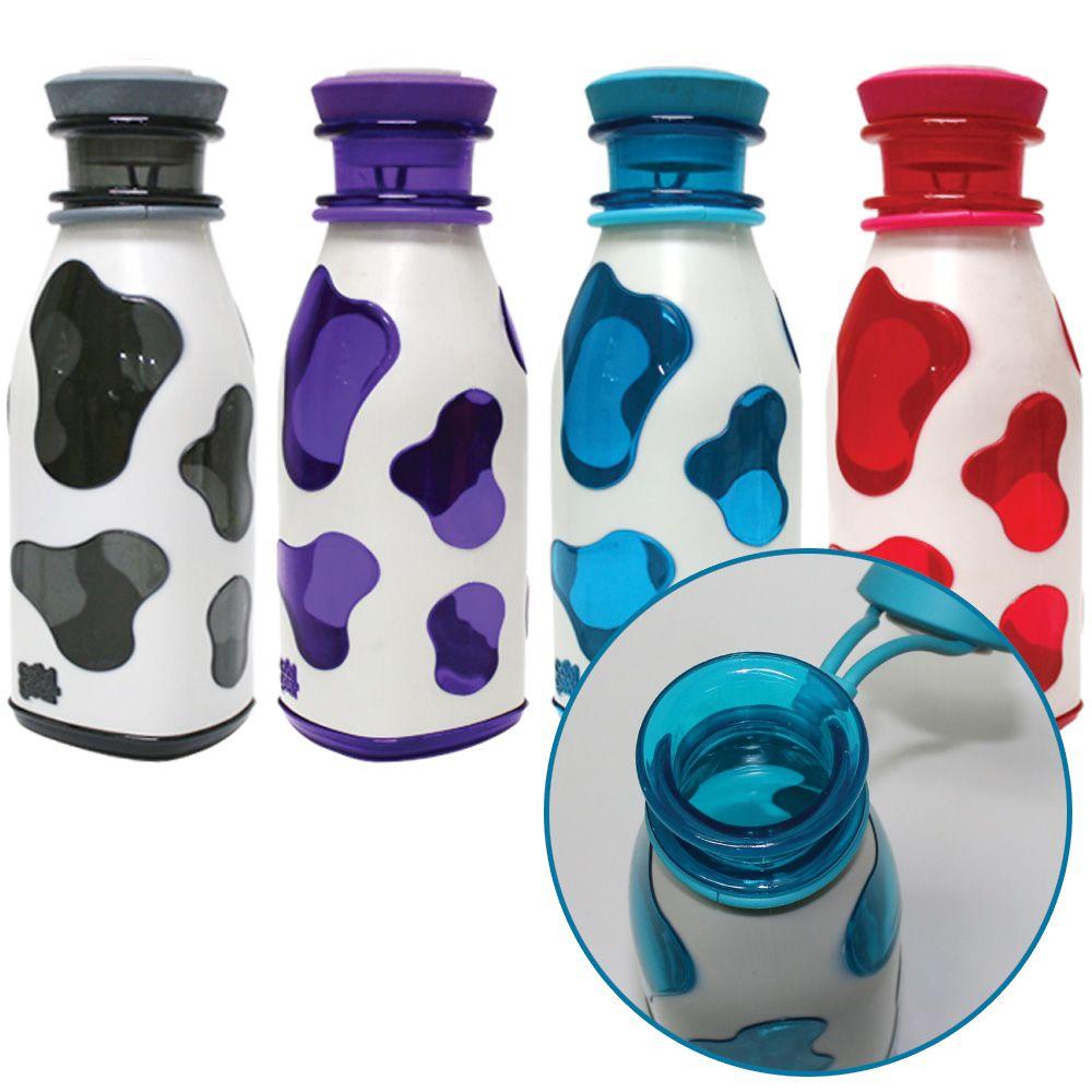 유아물병 밀크 물병 얼룩무늬 텀블러 휴대용 물통 보틀 590ml 유치원물통