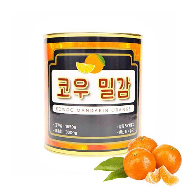 코우 밀감 만다린 오렌지 3kg