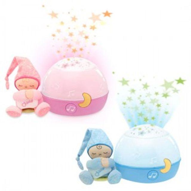 어린이 수면등 치코 굿나잇스타램프 핑크 블루