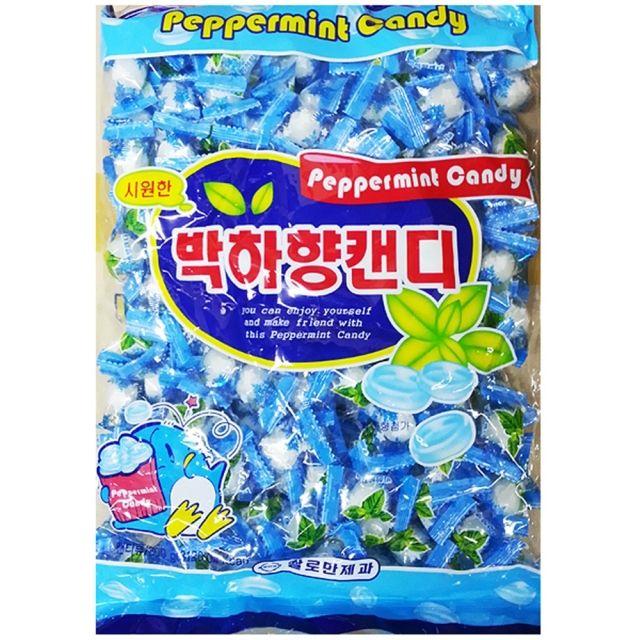 사탕(박하 쌀로만 800g)X6