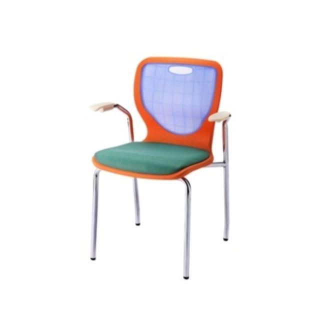 멀티 암체어 팔걸이 의자 방석 학원 공부방 사무실