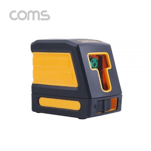 Coms 수평계Laser levelAA건전지 사용