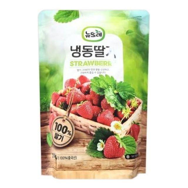 우양 중국산 딸기 홀 1kg