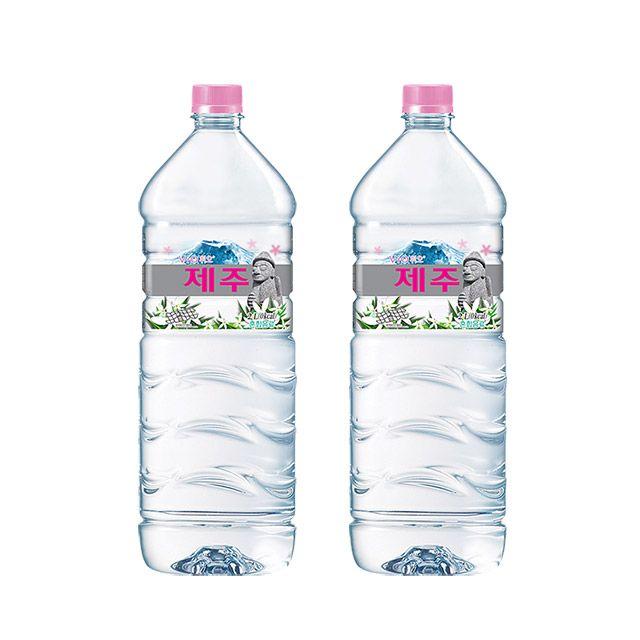 휘오 제주V워터 2L 6개 생수 심층수 미네랄워터 물