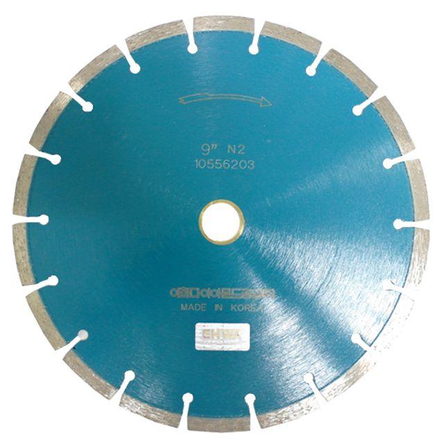 마른날 9in x3.2T 콘크리트 아스팔트 도로절단