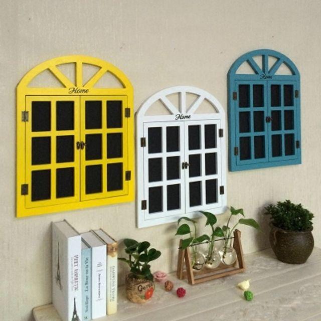 벽걸이 창문 흑판 장식 인테리어 주방 거실
