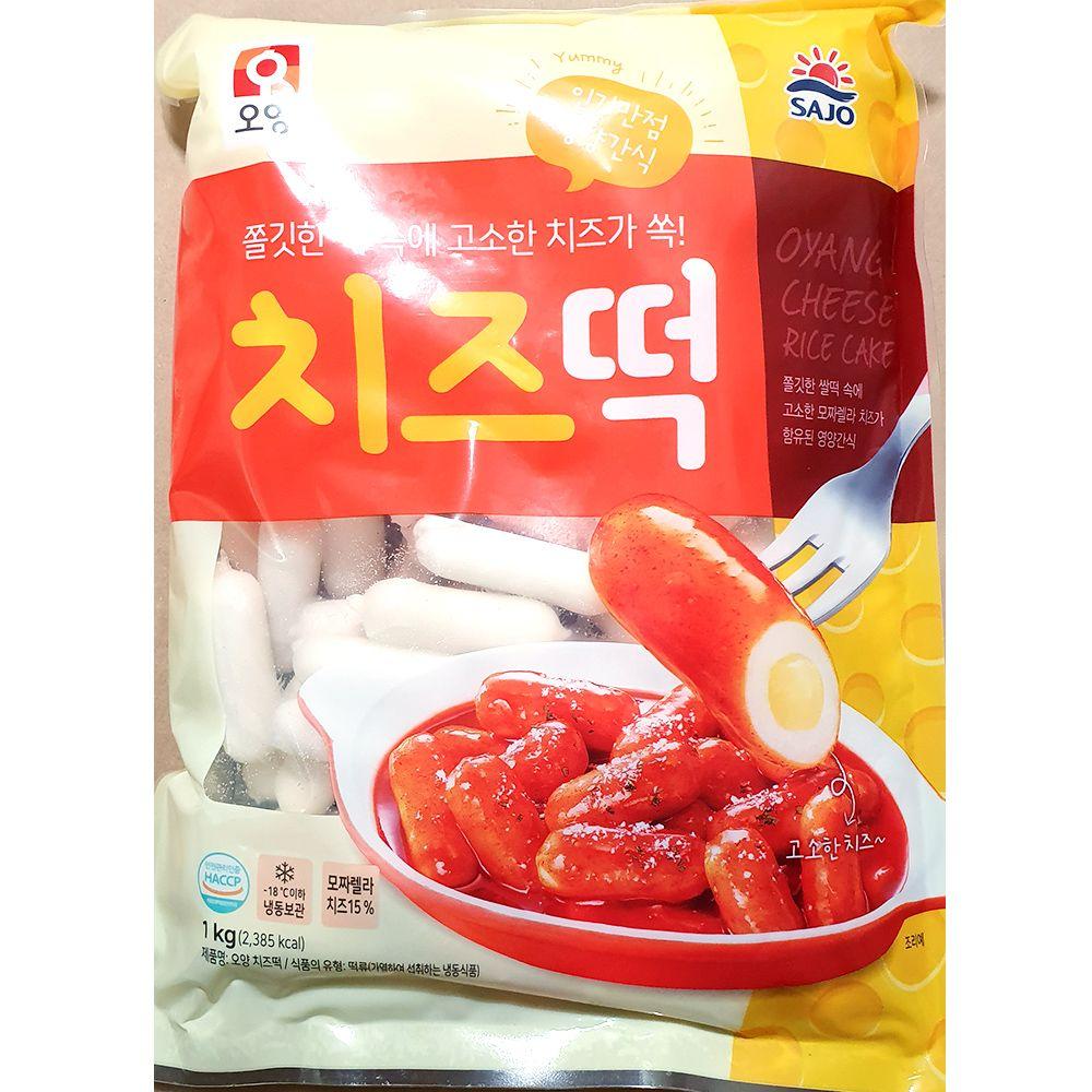 업소용 식당 분식집 식자재 재료 오양 치즈떡 1kg