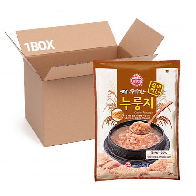 오뚜기 옛날 끓여먹는 누룽지 900g (1box 12입)