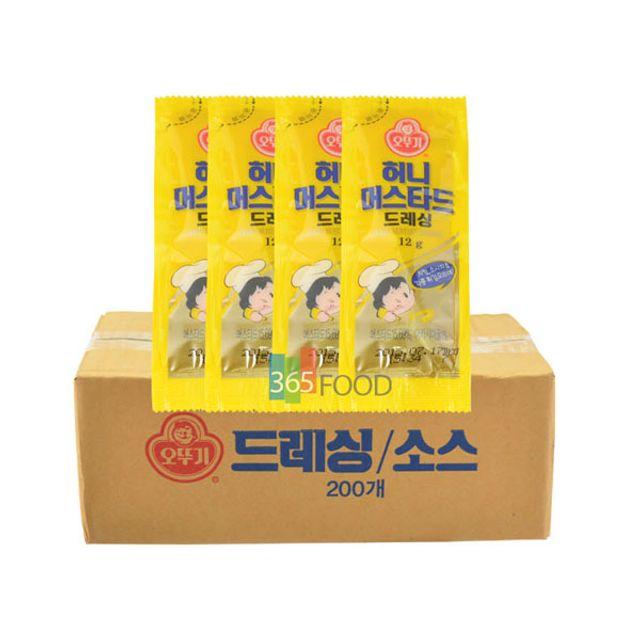 오뚜기 허니머스타드 (일회용) (12g 100개입)