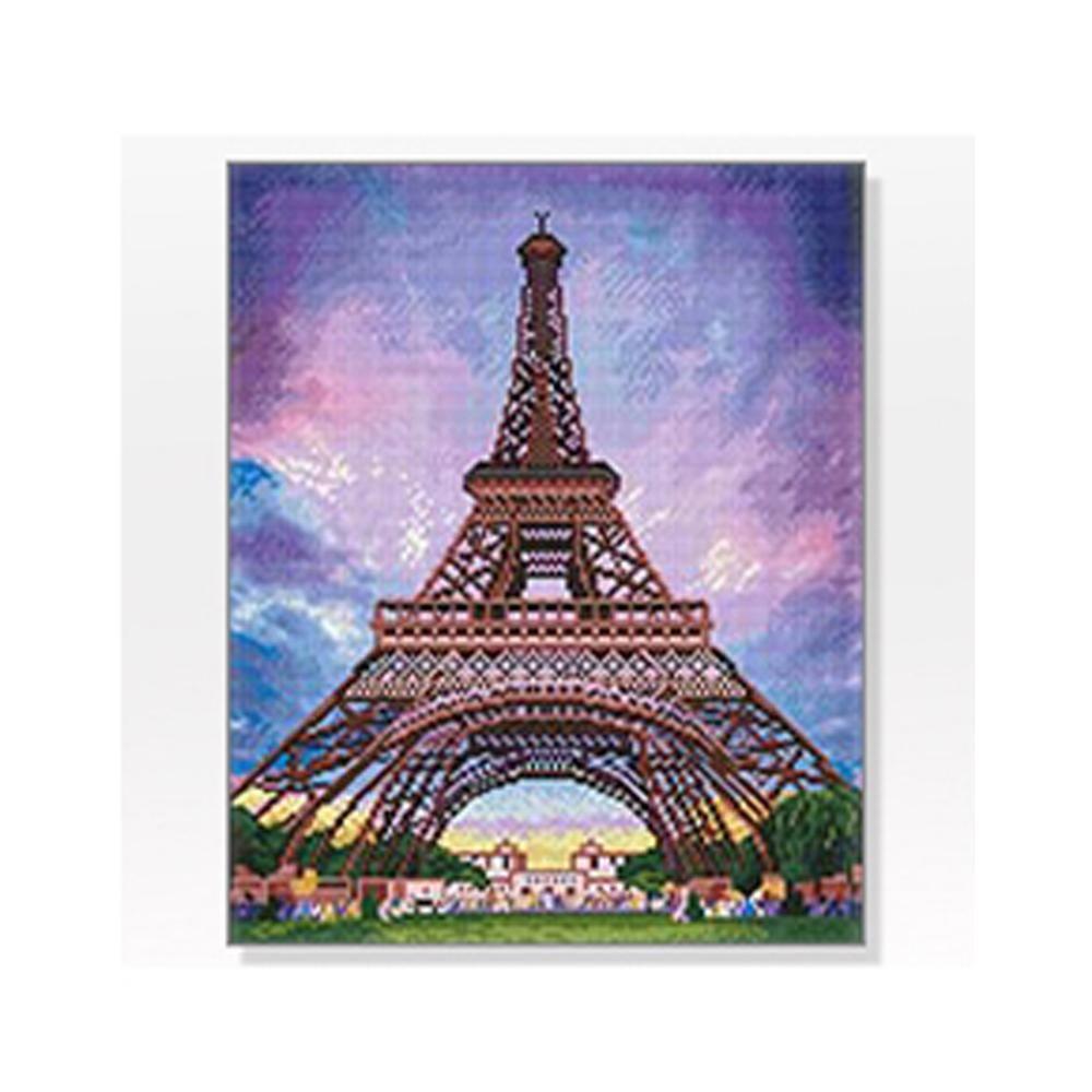 DIY 보석십자수 풍경시리즈 낭만에펠탑 40X50
