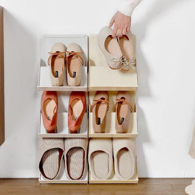 키밍 조립 신발 신발장 현관 오픈형 슈즈랙 마음대로