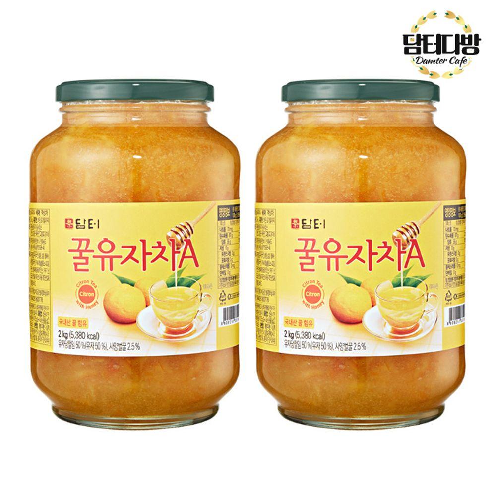 (1+1묶음) 담터 꿀유자차(A) 2kg