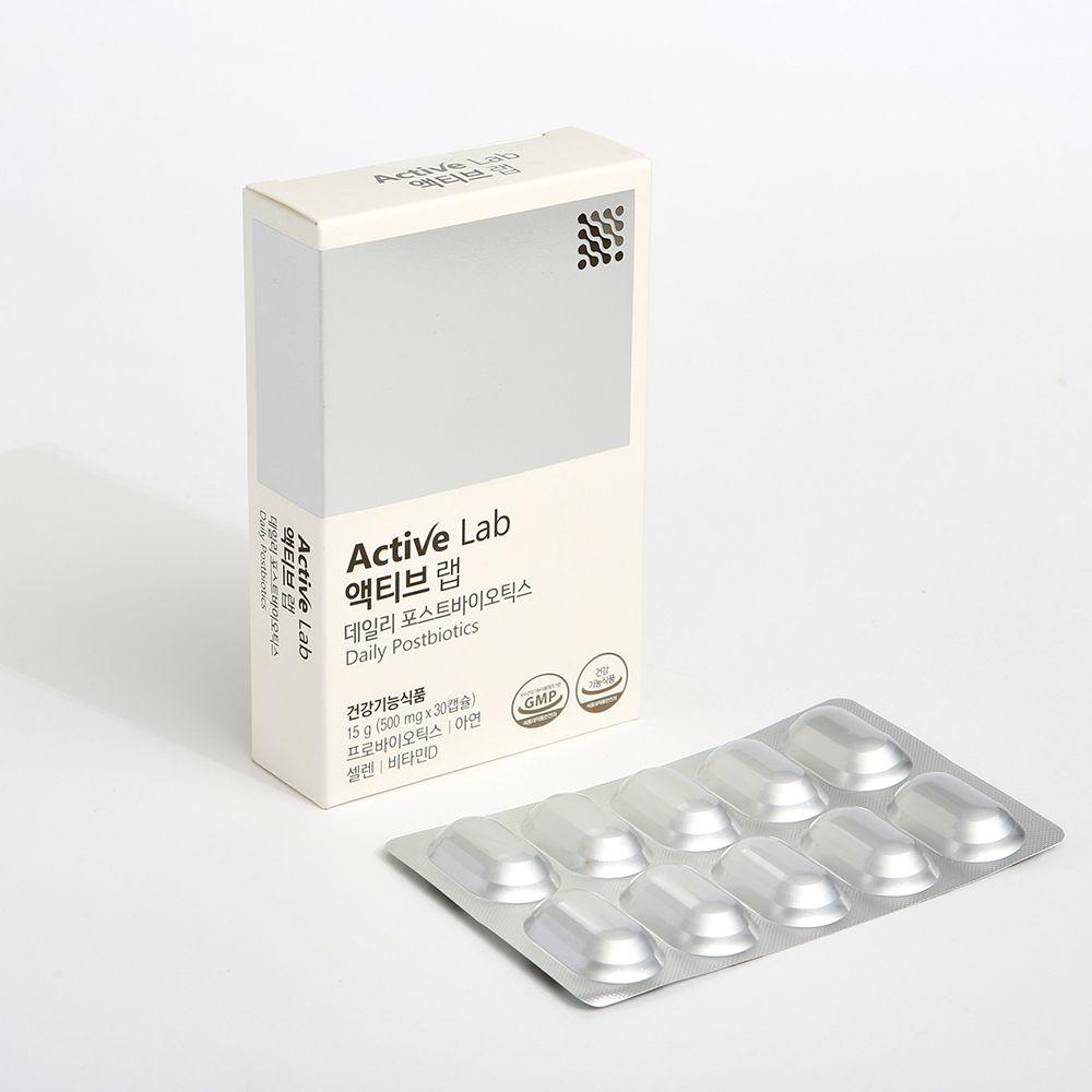 액티브랩 데일리 포스트바이오틱스 4중기능성