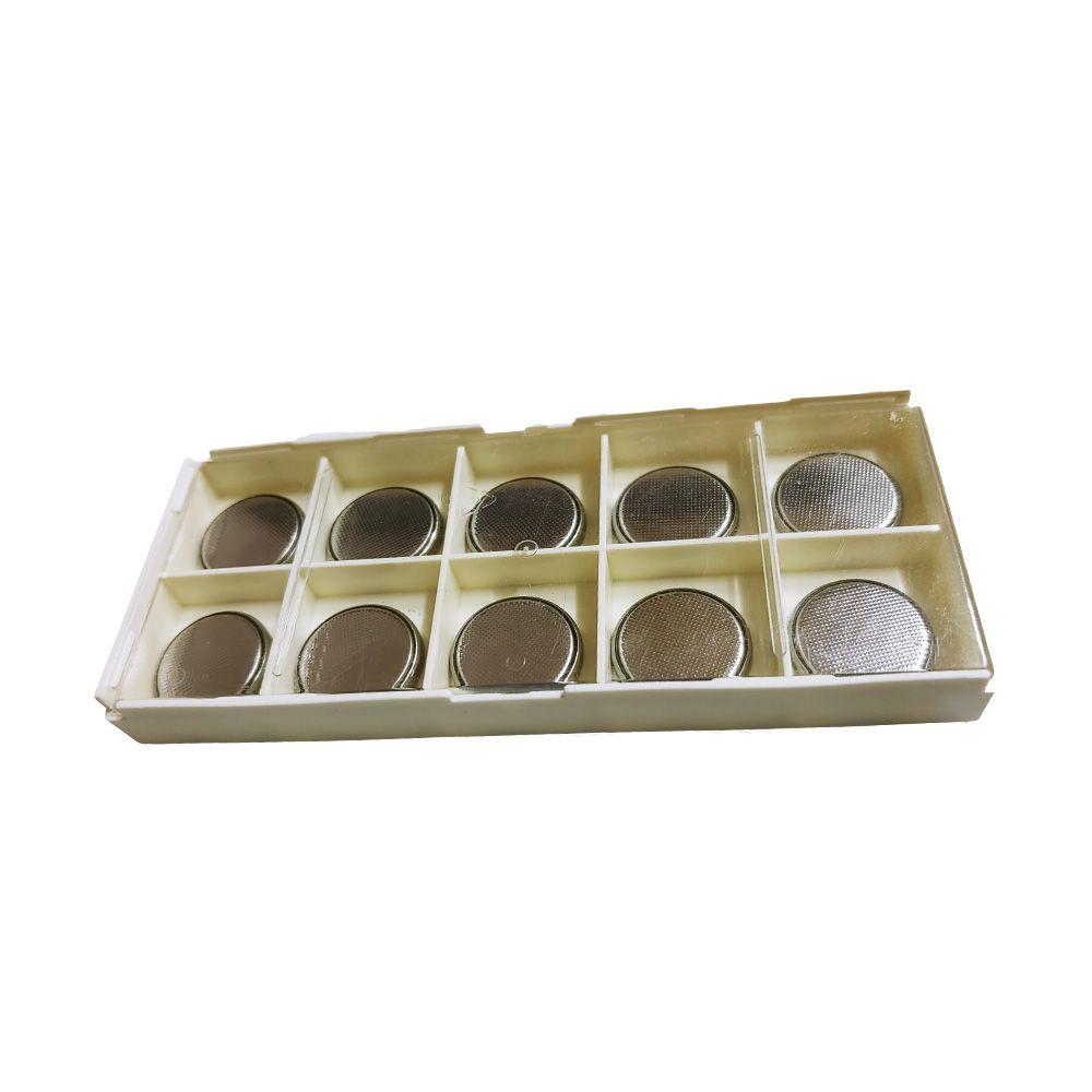 CR2032 3v 동전 무수은 리튬건전지 보관함 (10알세트)
