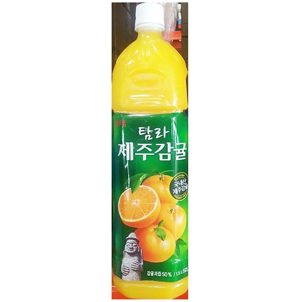 업소용 식자재 롯데칠성 제주 감귤 주스 1.5L X12
