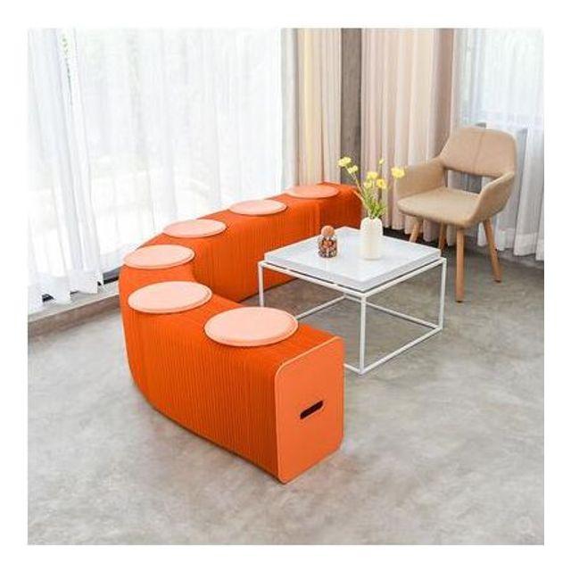 6인용 공간절약 풍금의자 변형풍금소파 창의소파