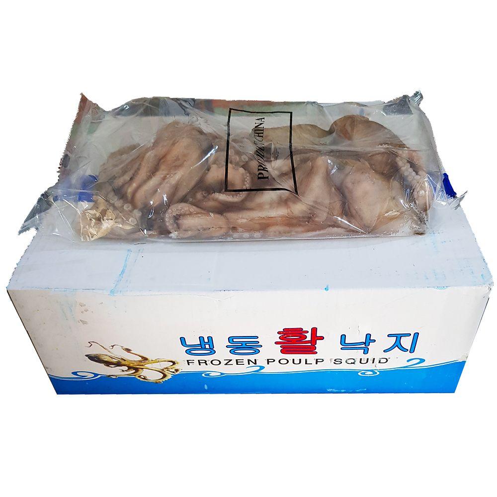 업소용 음식점 식자재 재료 냉동 통낙지 4미 850g X6