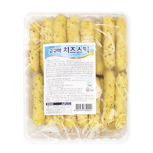 간편조리 고구마 모짜렐라 치즈스틱 1kg