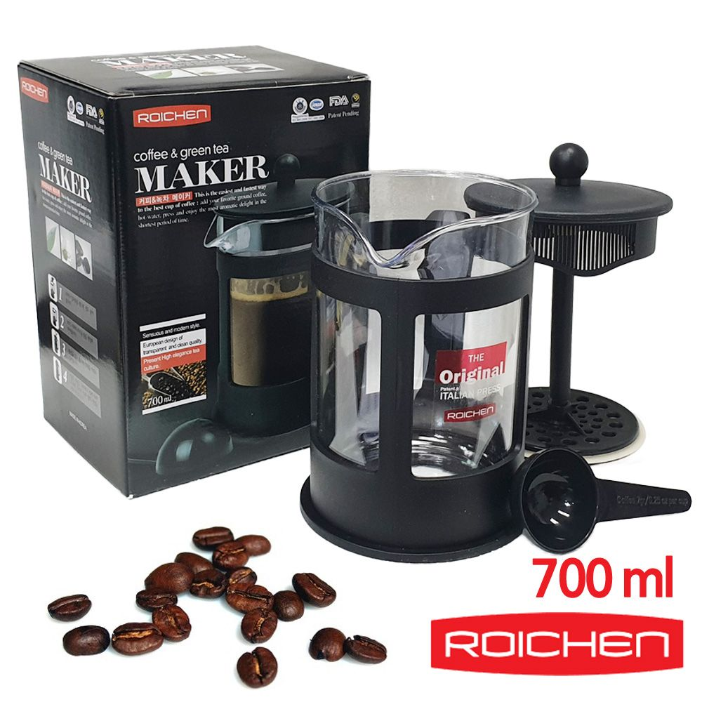 로이첸 커피메이커 녹차 티포트 700ml