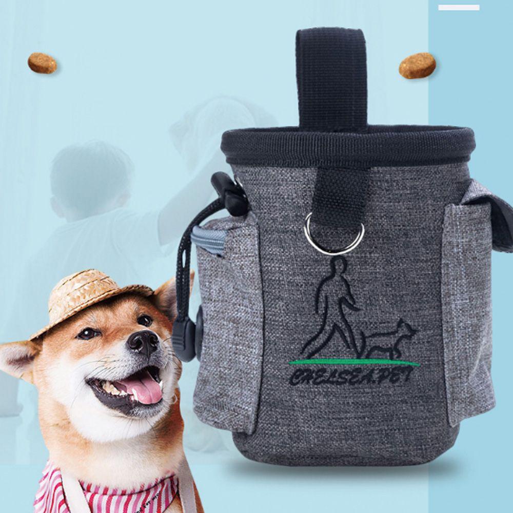 키밍 강아지 훈련 간식 가방 포켓 산책 짐가방 배변