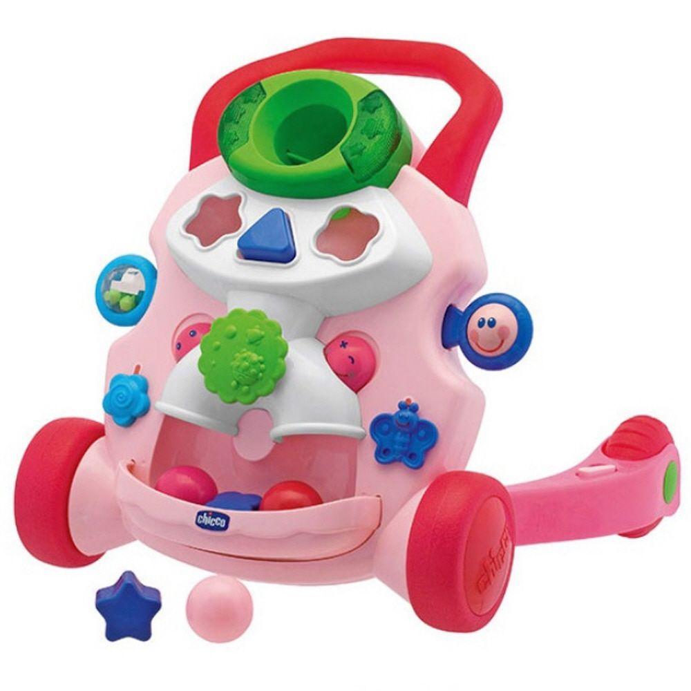 첫걸음 2세 3세 영유아 장난감 놀이 아기 걸음마 핑크