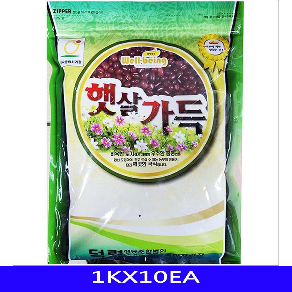 잡곡 적두팥 곡물 음식재료 덕령영농 1KX10EA