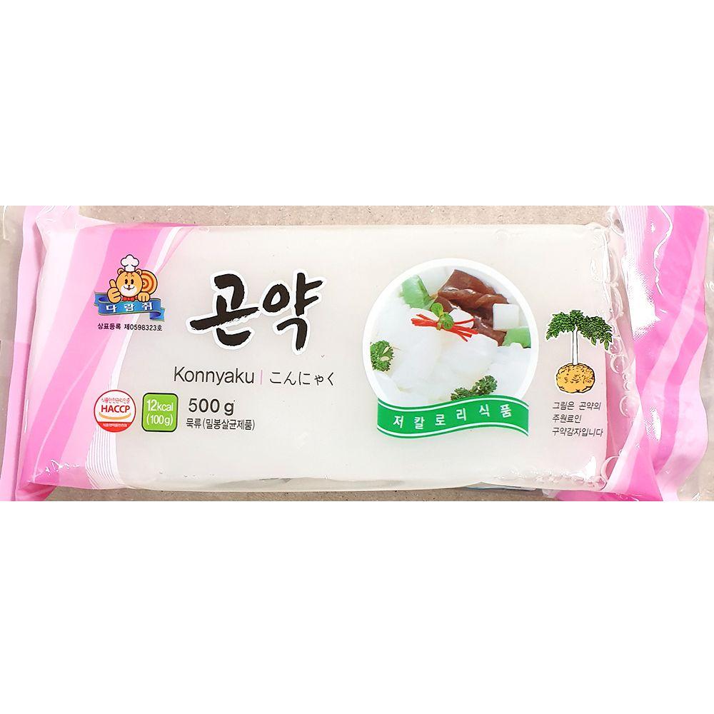 업소용 식당 식자재 주방 요리 재료 묵곤약 500g