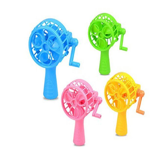 여름 야외 핸디 휴대용 문구 소형 수동 미니선풍기