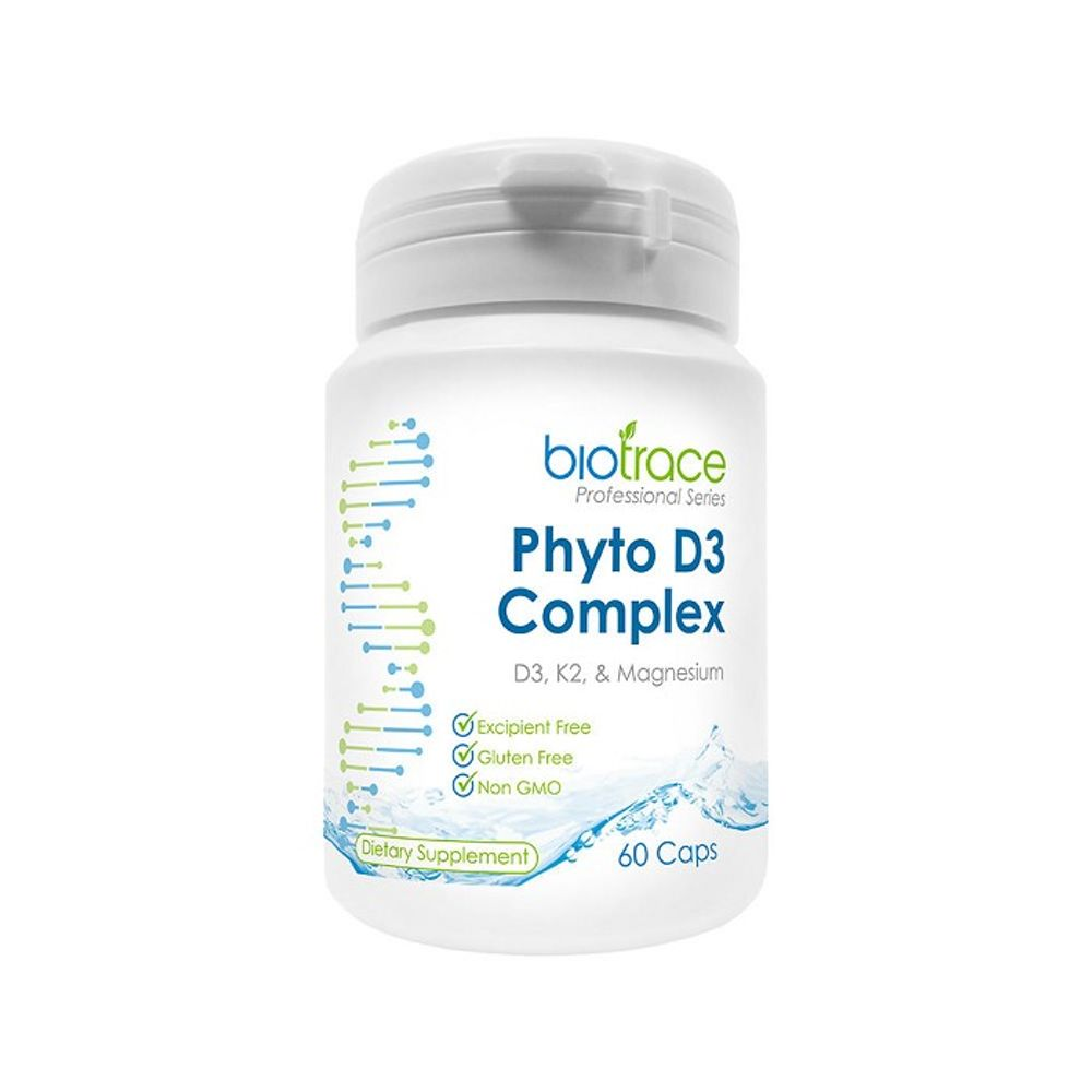 뉴질랜드 바이오트레이스 피토 비타민 D3 60캡슐