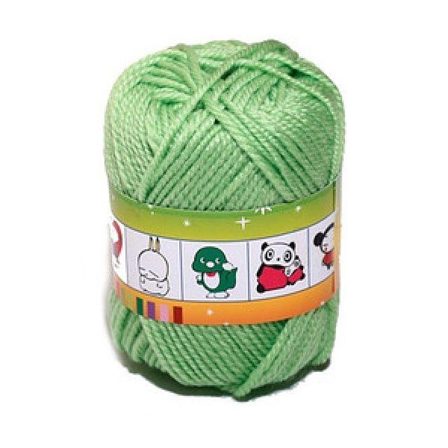 털실(연두-45g)공작 공예 미술준비물 학습용품 털실