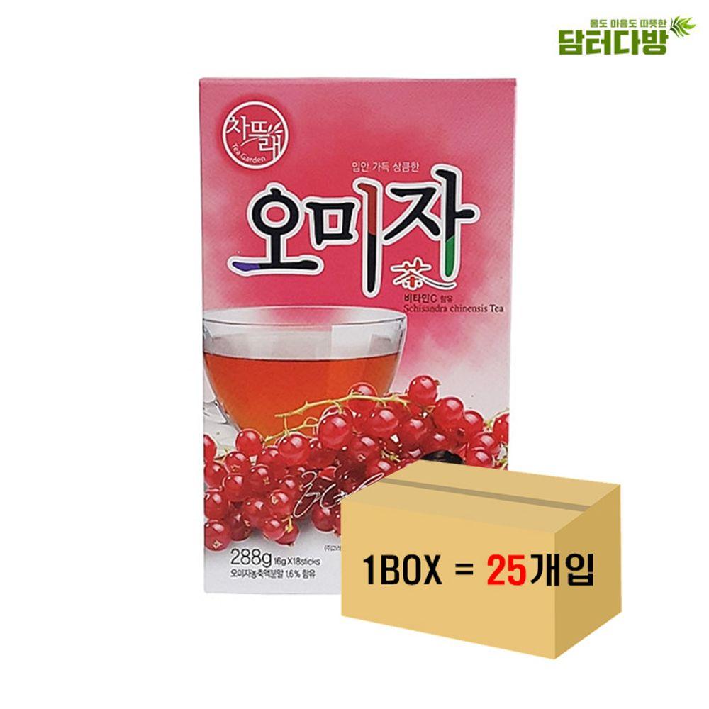 차뜨래 오미자차 18스틱 1BOX(25개입)