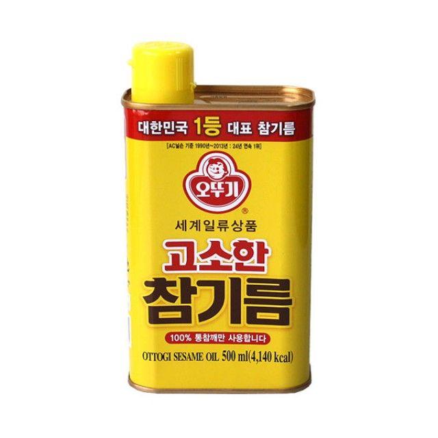 오뚜기고소한참기름 500ml