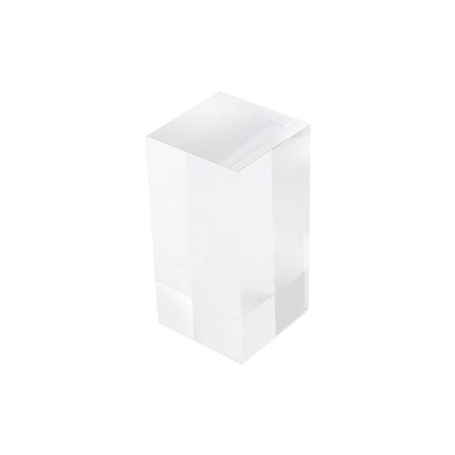 아크릴 사각 진열대 보석 액세서리 장식 디피용 진열