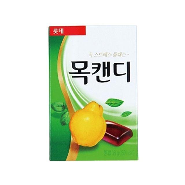 롯데제과)목캔디 오리지널(38g×12개입)