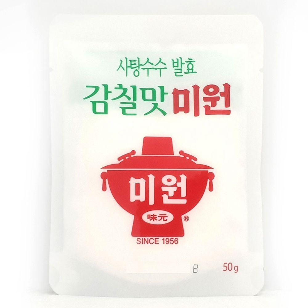 감칠맛 미원 50g 발효 사탕수수 국물 볶음 요리용