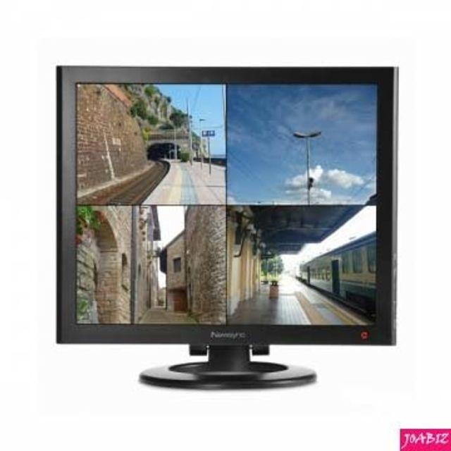 Newsync 17LED CCTV 강화유리 모니터 PC용품