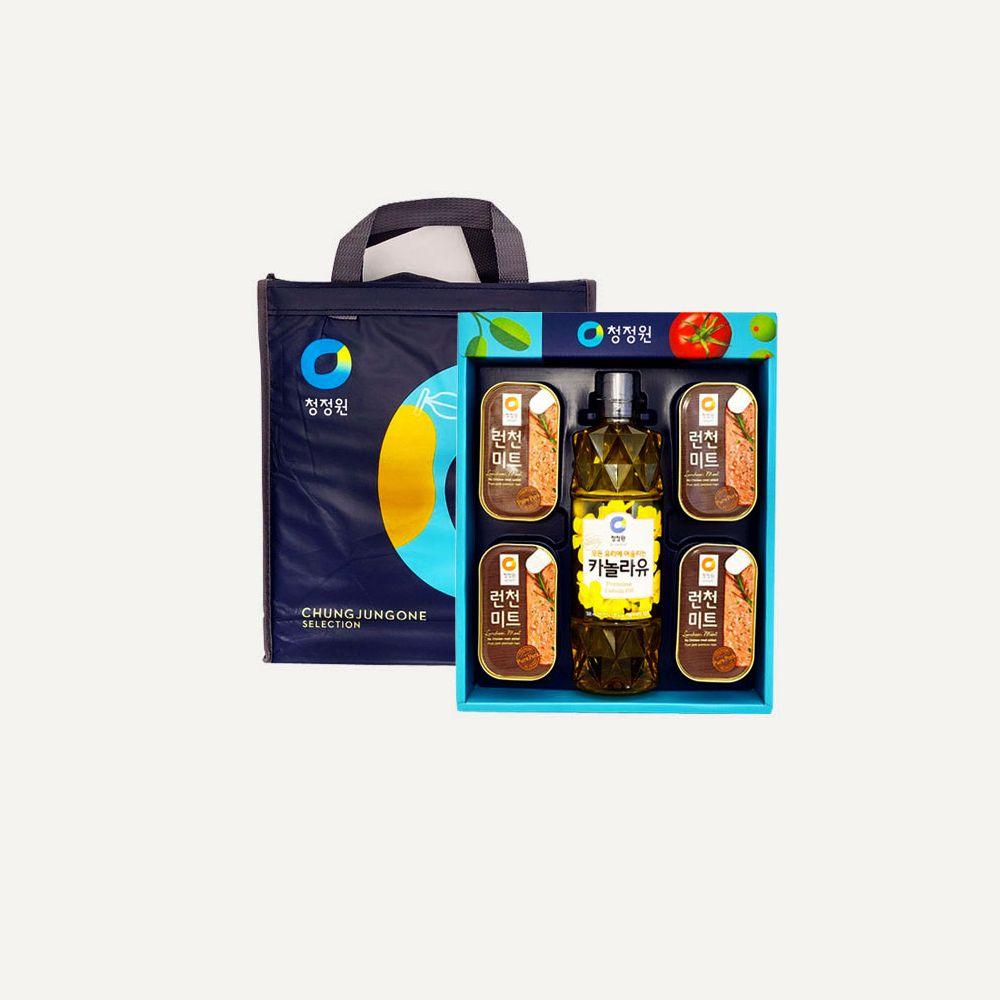 청정원 S20호 햄 식용유 명절 선물세트