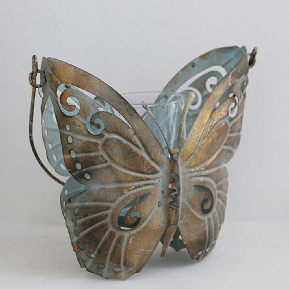 철재 나비 초홀더 캔들 티라이트워머 빈티지 장식소품