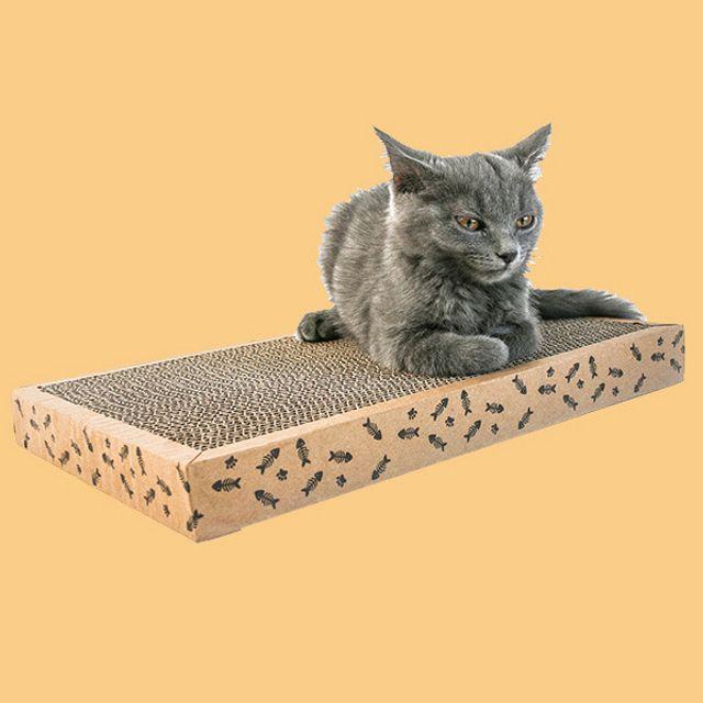 골판지 스크래쳐 고양이 평판 반려동물 장난감 캣타워