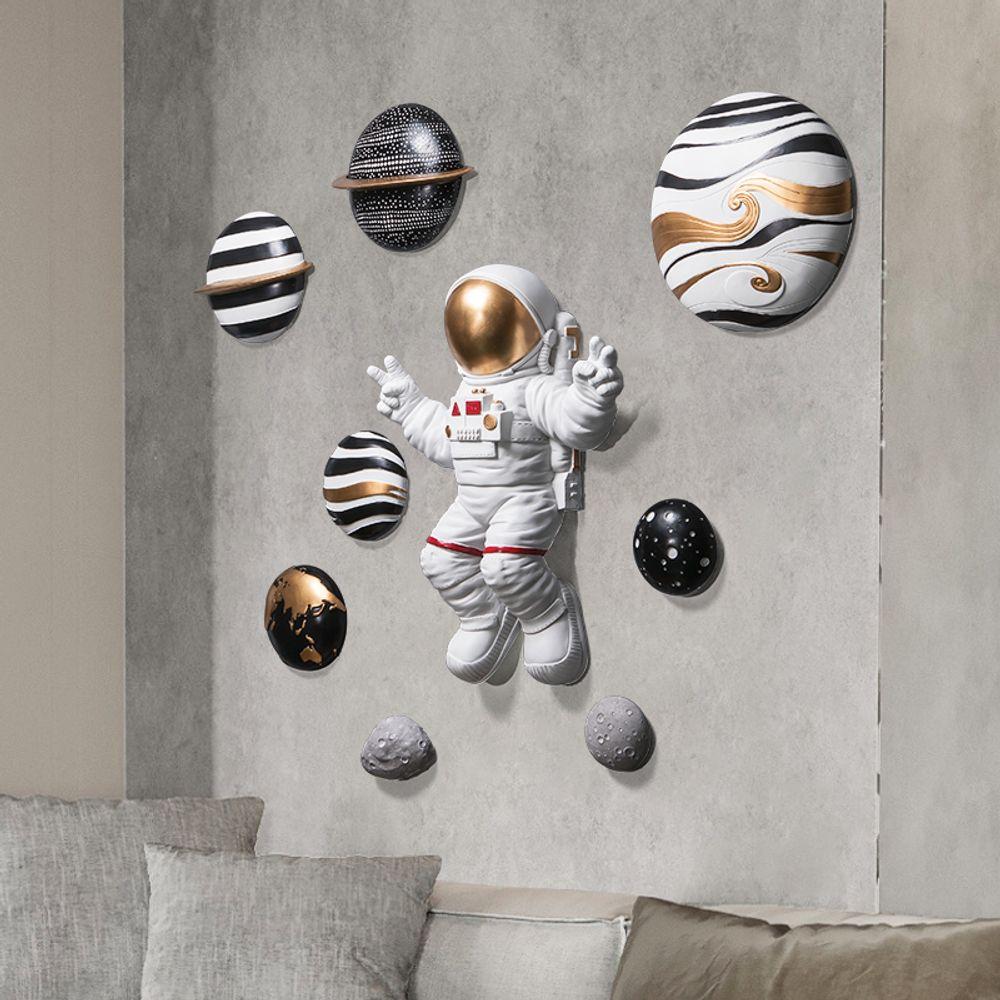 3d 입체 우주 비행사 세트