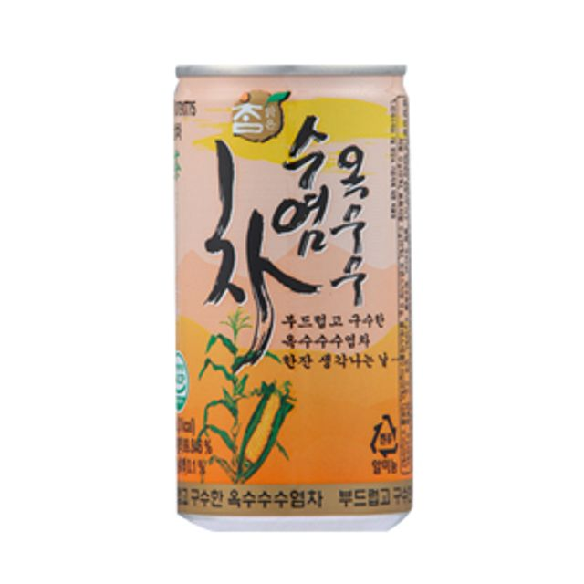 참맑은 옥수수수염차 음료 업소용 180ML 90캔