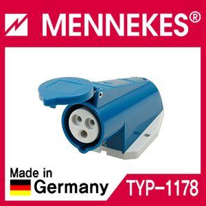 아이티알,MT MENKS TYP 1178 230V 16A 3P 노출형 소켓