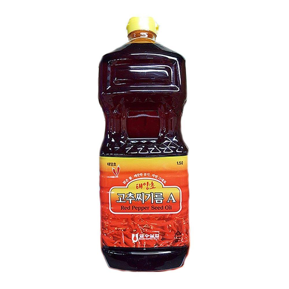 금수실업 고추맛기름 고추기름 고춧기름 1.5L