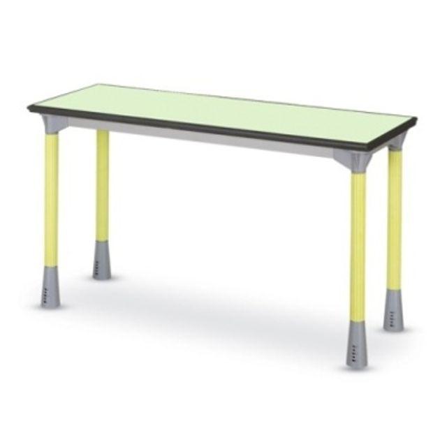 수업 강의용 우레탄 책상 사각 학교 테이블 높이조절