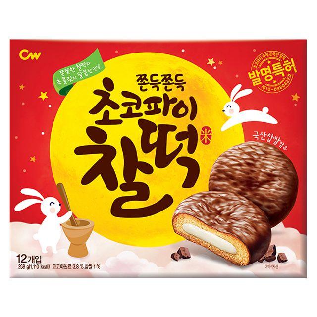 청우)초코파이찰떡258g(10매입/CW004)
