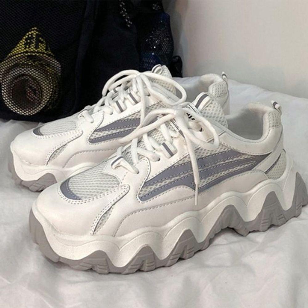 키높이 5cm 어글리 슈즈 2컬러 운동화 신발