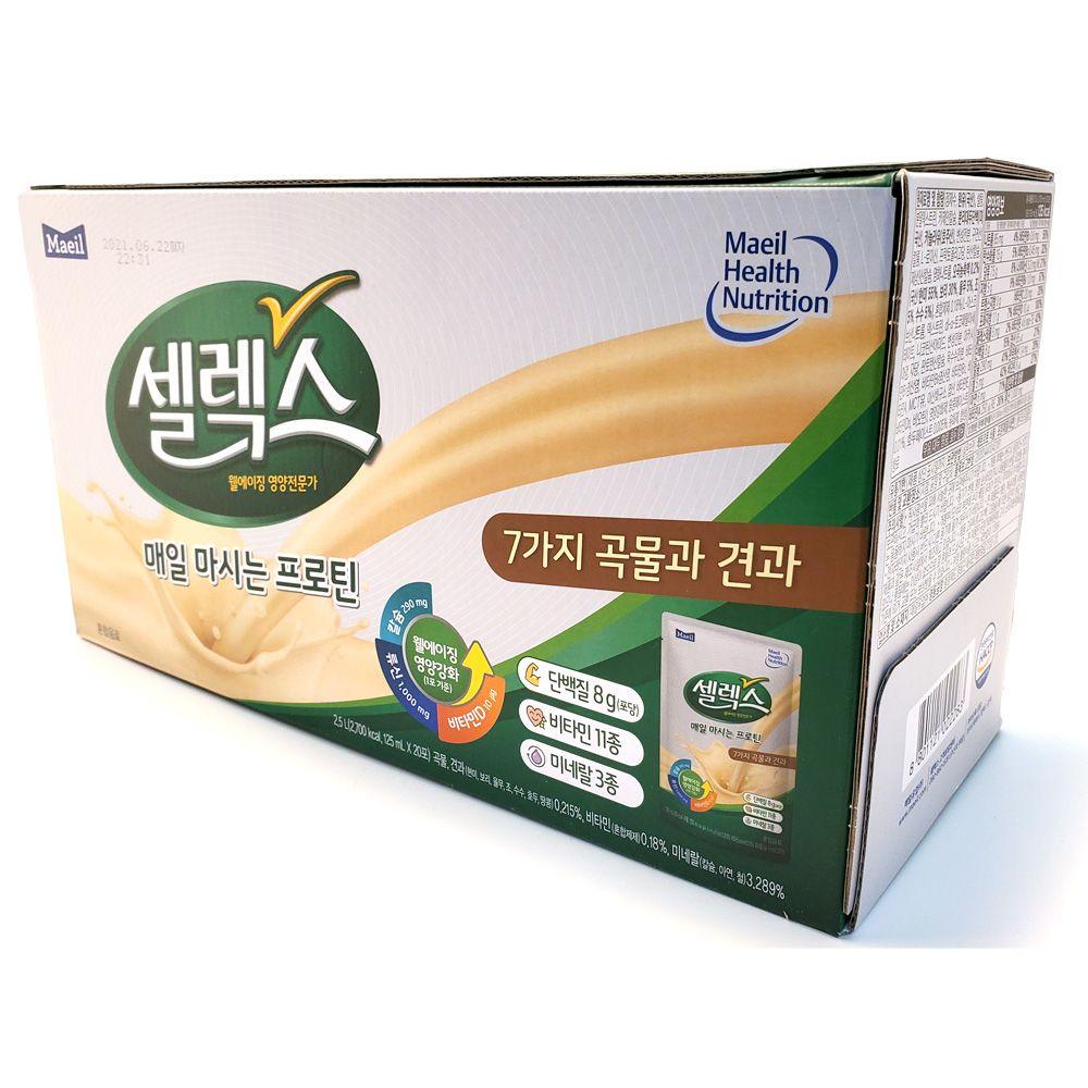 매일우유 마시는 프로틴 셀렉스 쉐이크음료 단백질