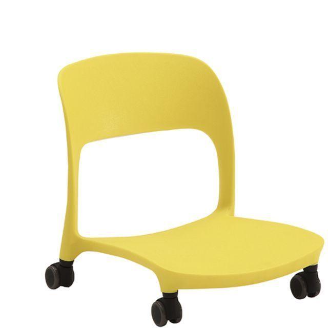 좌식 로라 바퀴 의자 CB 옐로우 식당 음식점 일식집